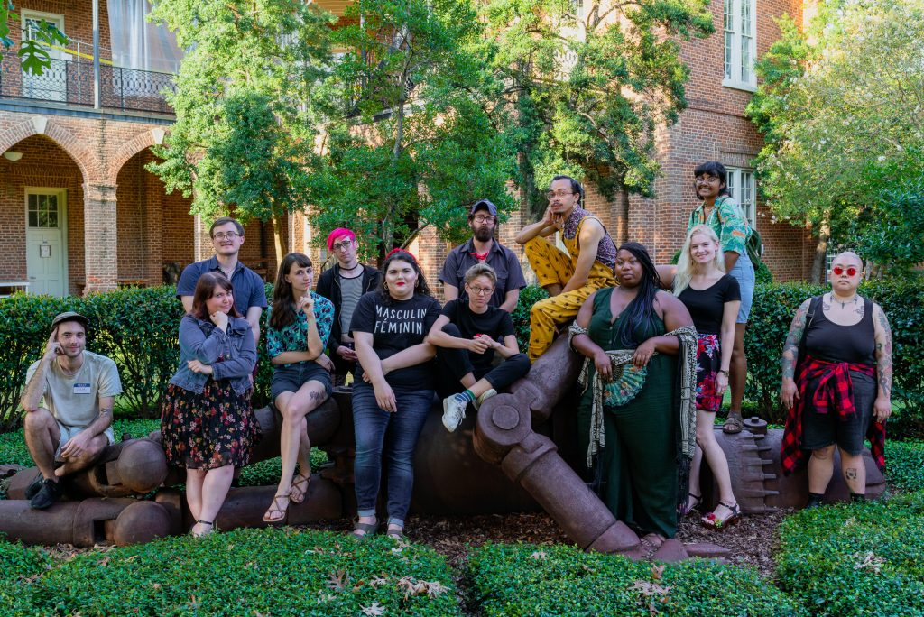 A recent incoming class of MFA students